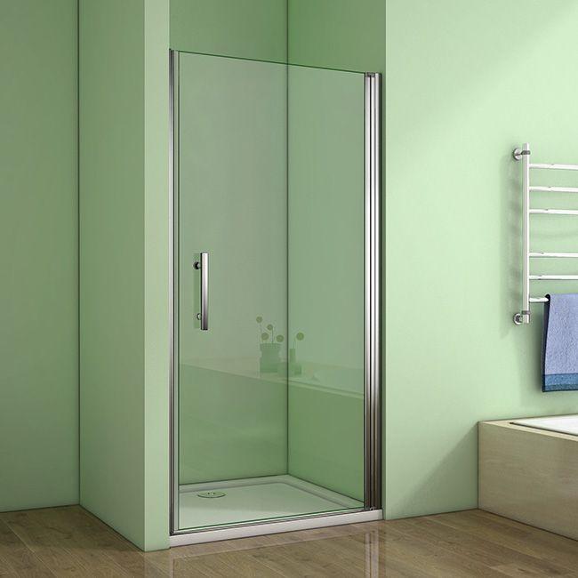 H K - Sprchové dvere MELODY D1 76 jednokrídlové dvere 75-78 x 195 cm SE- MELODYD176SET