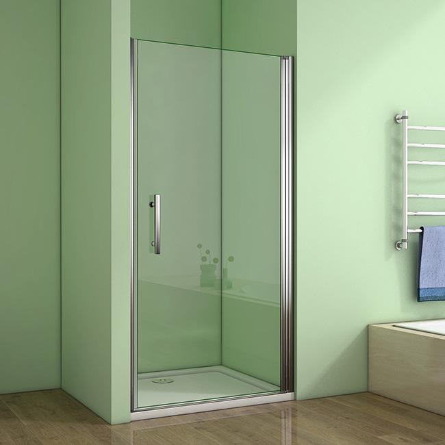 Sprchové dveře MELODY D1 76 jednokřídlé dveře 75-78 x 195 cm (SE- MELODYD176SET)