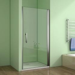 H K - Sprchové dveře MELODY D1 76 jednokřídlé dveře 75-78 x 195 cm (SE- MELODYD176SET)