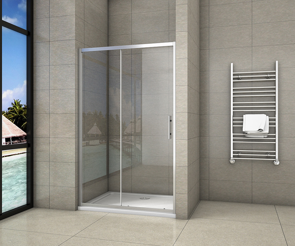 H K - Posuvné sprchové dveře SYMPHONY D2 100, 96-100x190cm L/P varianta (SE-SYMPHONYD2100)
