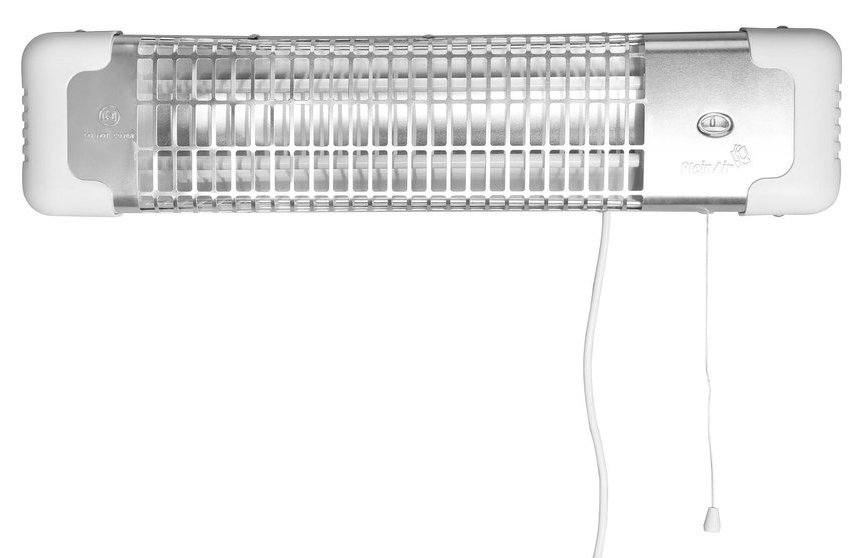 AQUALINE - Infražiarič Reglette 600-1200 W, 610x132x157 mm, biela (R-1200)