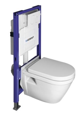 SAPHO - Zvýhodněný set (WC IDEA + nádrž. GEBERIT + tlačítko + sedátko) (WC-SADA-13)