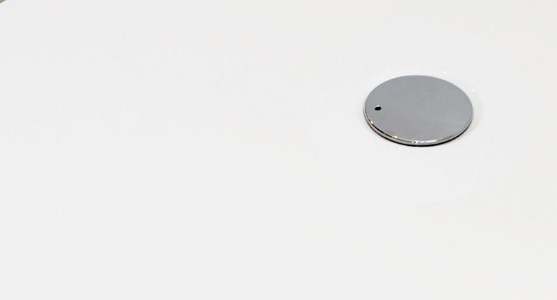 Aquatek - FUSION 90 sprchová vanička z liateho mramoru štvorcová (FUSION 90CTVEREC)