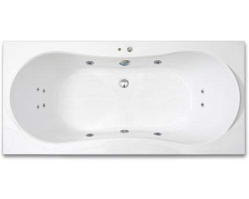 ARTTEC - KRONA SURF 180 x 80 hydromasážní akrylátová vana (PAN04394)