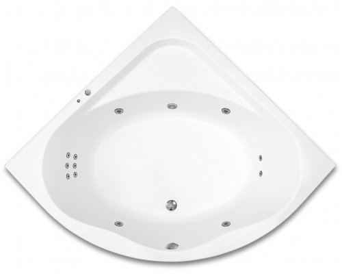ARTTEC - GAIA SURF 150x150 hydromasážní akrylátová vana (PAN04362)