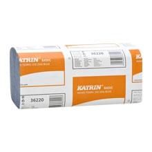 Papírové skládané utěrky Katrin modré 36220 (EGP36220)