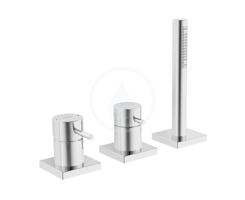 HANSA - Stela Vaňová 3-otvorová páková batéria, chróm (57319012)