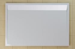 SanSwiss vanička ILA obdélník bílá 100x80x3,5 cm kryt bílý WIA801000404 (WIA801000404)