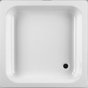 Sprchová vanička ocel bílá 80x80x14 antislip, JIKA SOFIA (H2140800000111)