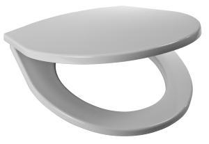 JIKA - Lyra Plus sedátko pro záv.a stoj.WC, termoplast, plast úchyty 8.9338.7.000.000.1 (H8933870000001)