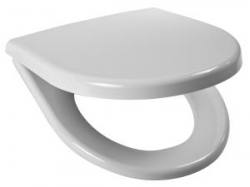 JIKA - Lyra Plus / Tigo sedátko pro záv.a stoj.WC, duroplast, nerez úchyty  8.9338.4.300.063.1 (H8933843000631)