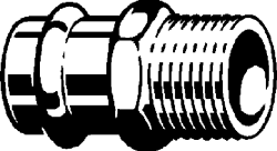 "VIEGA  s.r.o. - PFP-G přechod  ZV 28x5/4"" 2611 V 346294 (V 346294), fotografie 2/1"