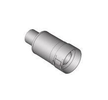 BRILON - Komín Serio fasádní hlavice se svěrnou objímkou DN125/80 nerez 52108801 (52108801)