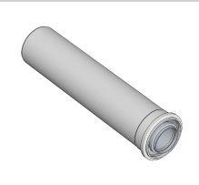 BRILON - Komín Serio trubka koaxiální DN100/60 x 2000 mm   hliník/plast  52100004 (52100004)