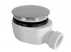 Sifon sprchový 90 SNÍŽENÝ v.63mm chrom DN40 Plast Brno, nízký  EWCN940 (EWCN940)