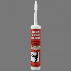 Tmel Sanitární neutrální silikon OXIM Bílý, DenBraven, 310ml kartuše  30602RL (30602RL)
