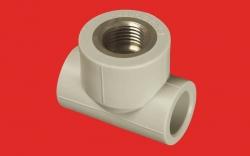 """FV - Plast - PPR T kus 20x1/2"""" MZD vnitřní AA222020012 (222020)"""