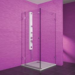 TEIKO sprchový kout obdélníkový PSKDS 1/100-75 SKLO LEVÁ  100x75x187 (V332100L52T01003)