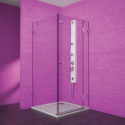 TEIKO sprchový kout obdélníkový PSKDS 1/100-75 SKLO PRAVÁ  100x75x187 (V332100R52T01003)