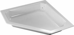 TEIKO vanička pětiúhelníková PEGAS Bílá 90 x 90 x 14 (V136090N32T01001)