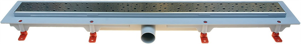HACO Podlahový lineární žlab 850 mm square mat HC0540/6 (HC0540/6)