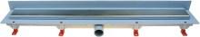 HACO Podlahový lineární žlab ke stěně 850 mm klasik mat HC0542/3 (HC0542/3)