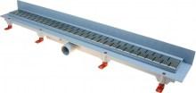 HACO Podlahový lineární žlab ke stěně 850 mm medium mat HC0542/9 (HC0542/9)