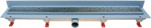 HACO Podlahový lineární žlab ke stěně 850 mm square mat HC0542/6 (HC0542/6)