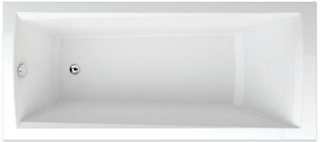 TEIKO vaňa obdĺžniková TREND 160x75 BÍLÁ 160 x 75 x 45 V113160N04T03001