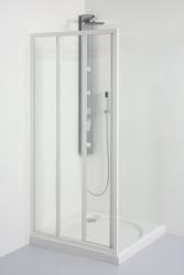 TEIKO sprchové dveře posuvné SD 2/90 CHINCHILLA BÍLÝ 90x185 (V331090N53T32001)