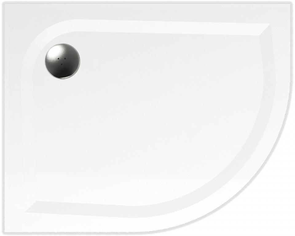 TEIKO vanička asymetrická VIRGO 100x80 R55 LEVÁ BÍLÁ 100 x 80 x 3 (Z139100L96T52001)