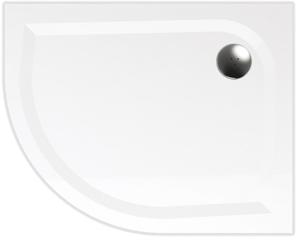 TEIKO vanička asymetrická VIRGO 100x80 R55 PRAVÁ BÍLÁ 100 x 80 x 3 (Z139100R96T52001)