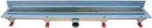 HACO Podlahový lineární žlab ke stěně 750 mm square mat HC0542/5 (HC0542/5)