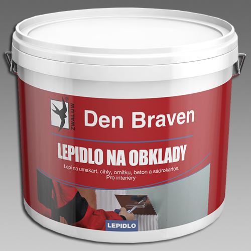 Lepidlo na obklady, na umakart, kbelík 5kg, DenBraven 50112RL (50112RL)