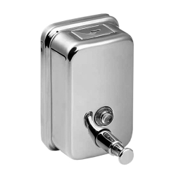 Sanela SLZN 05 Nerezový dávkovač tekutého mýdla, obsah 1,25 l, lesklý (SL 95050)