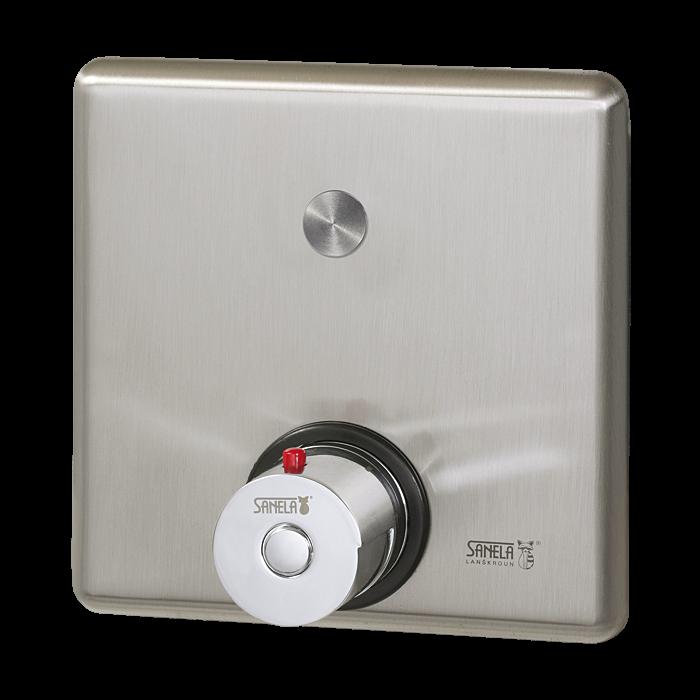 Sanela SLS 02PT Piezo ovládání sprchy s termostatickým ventilem pro teplou a studenou vodu, 24V DC (SL 12024)
