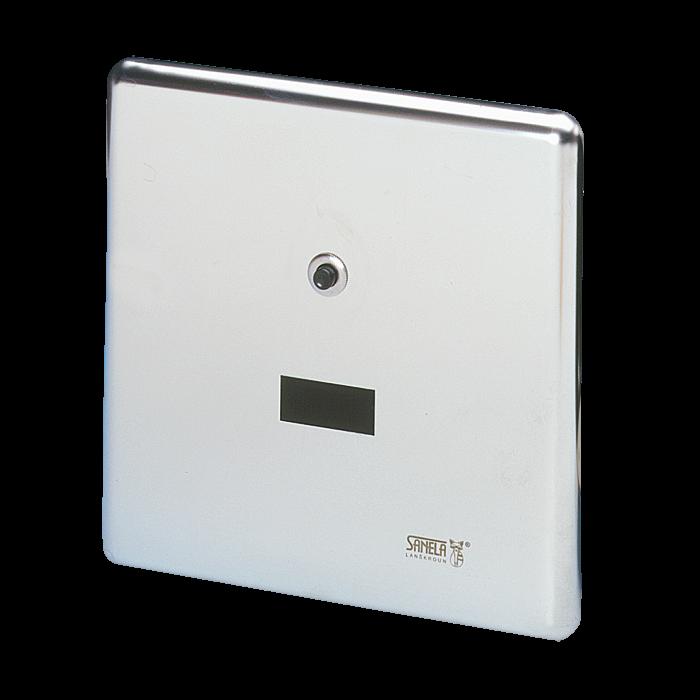 Sanela SLW 01NK Automatický splachovač WC s elektronikou ALS na tlakovou vodu, 24V DC (SL 04015)