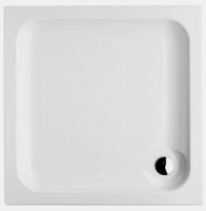 JIKA Deep vanička 80x80x6, čtverec, vestavná, akrylát H2118310000001 (H2118310000001)