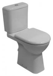 JIKA - Invalidní DEEP WC kombi mísa v.48cm, spodní odpad, bez nádrže (zvýšený o 8 cm)  H8236170000001 (H8236170000001)