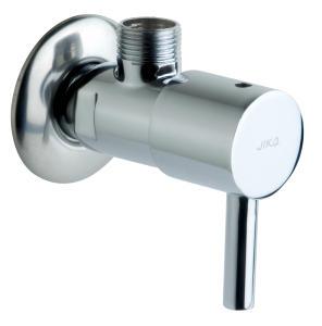 """JIKA - MIO rohový ventil 3/8-1/2"""", chrom, 2ks (cena za pár) 3.7271.0.004.010.1 (H3727100040101)"""