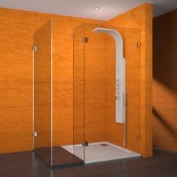 TEIKO sprchová stěna  NSSL3 SKLO LEVÁ  150x100x200 (V334150L52T70003)