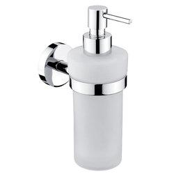 NIMCO - UNIX dávkovač na tekuté mýdlo-matné sklo 250ml, pumpička kov UN 13031WL-26 (UN 13031WL-26)