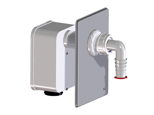Ostatní - HL kompletační sada jeden spotřebič (pračka/myčka), pro HL4000.0 HL4000.1 (HL4000.1)