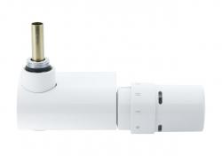 """DANFOSS VHX-Mono bílý rohový 1/2"""" s hlavicí RTX   (rozteč 50mm) 013G4387 (013G4387)"""