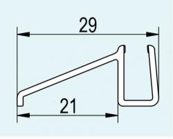 SanSwiss ND. těsnění s okapničkou(51602/ R55)pro 6mm sklo  na PLSR-PurLight-S  51602.KD.55 (51602.KD.55)