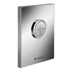 SCHELL WC ovládací deska EDITION ECO nerezová anti-vandal  028052899 (S028052899)
