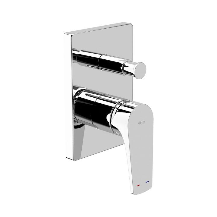 JIKA - Cubito-N baterie vanová podomítková s přepínačem na sprchu (H3211X60040001)