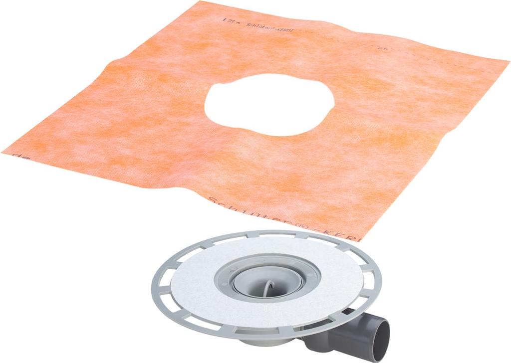 VIEGA s.r.o. - Advantix koupelnový odtok, základní těleso, spoj.izolace, mod.4938 (V 565695)