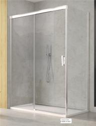 SanSwiss CADURA Boční stěna 800/2000mm aluchrom/čiré CAST0805007 (CAST0805007)