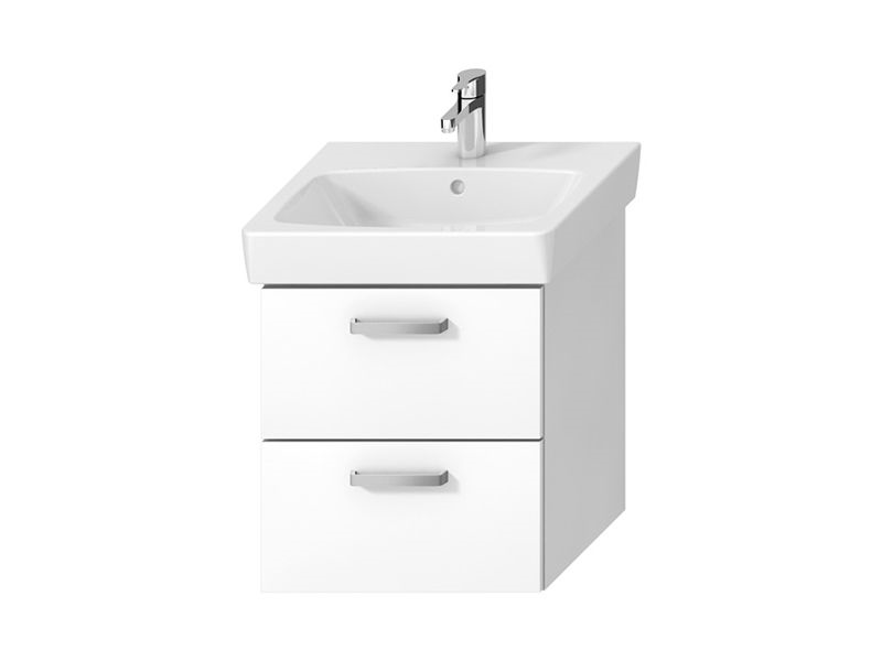 JIKA - LYRA plus Viva skříň Bílá pod umyvadlo 55x45 se 2 zásuvkami H40J3834023001 (H40J3834023001)